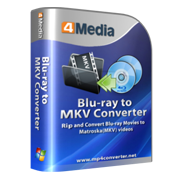 4Media Blu-ray to MKV Converter