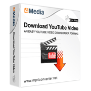 4Media Download YouTube Video for Mac