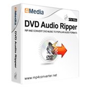 4Media DVD Audio Ripper for Mac