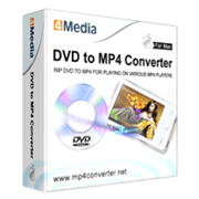 4Media DVD to MP4 Converter for Mac SE