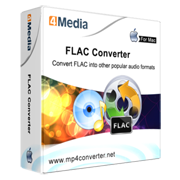 4Media FLAC Converter for Mac