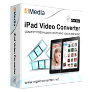 4Media iPad Video Converter for Mac