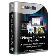 4Media iPhone Contacts Transfer