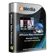 4Media iPhone Max Platinum