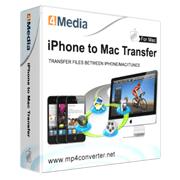 4Media iPhone to Mac Transfer