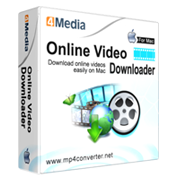 4Media Online Video Downloader for Mac