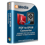 4Media PDF to EPUB Converter