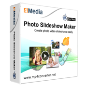 4Media Photo Slideshow Maker for Mac