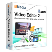 4Media Video Editor for Mac