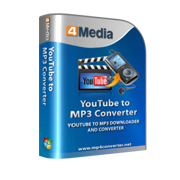 4Media YouTube to MP3 Converter
