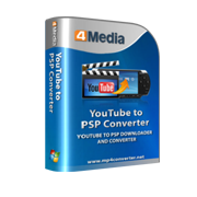 4Media YouTube to PSP Converter