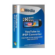 4Media YouTube to PSP Converter