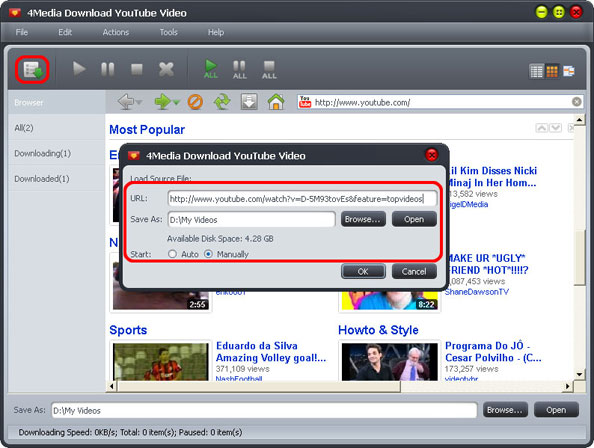 How to download YouTube Video free