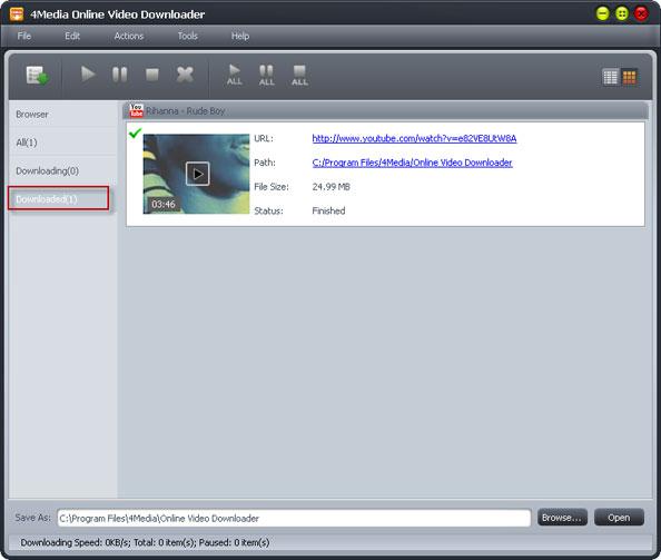 4Media Online Video Downloader