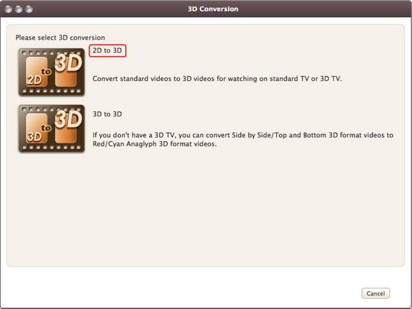 3D Video Conversion