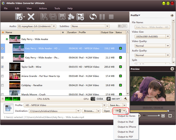 How to convert AVI MPEG WMV videos