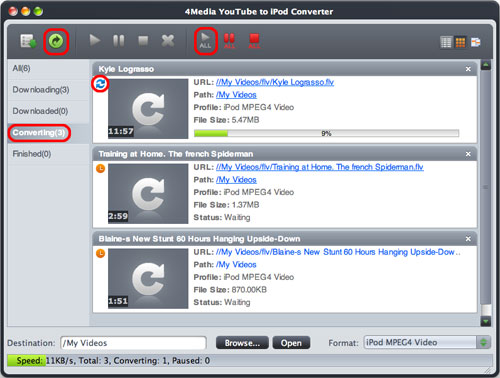 How to convert YouTube video to iPod Mac