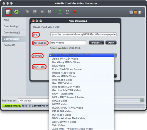 Convert YouTube to MP4 on Mac