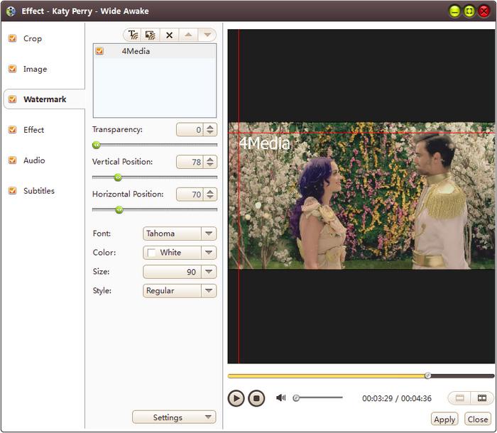 4Media Video Converter Ultimate