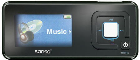 SanDisk Sansa c200 MP3 player
